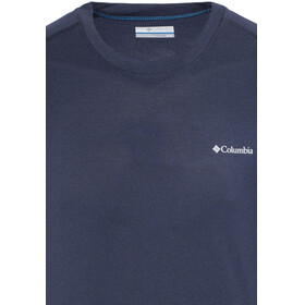 Columbia M's Mountain Tech III SS Crew Shirt collegiate navy